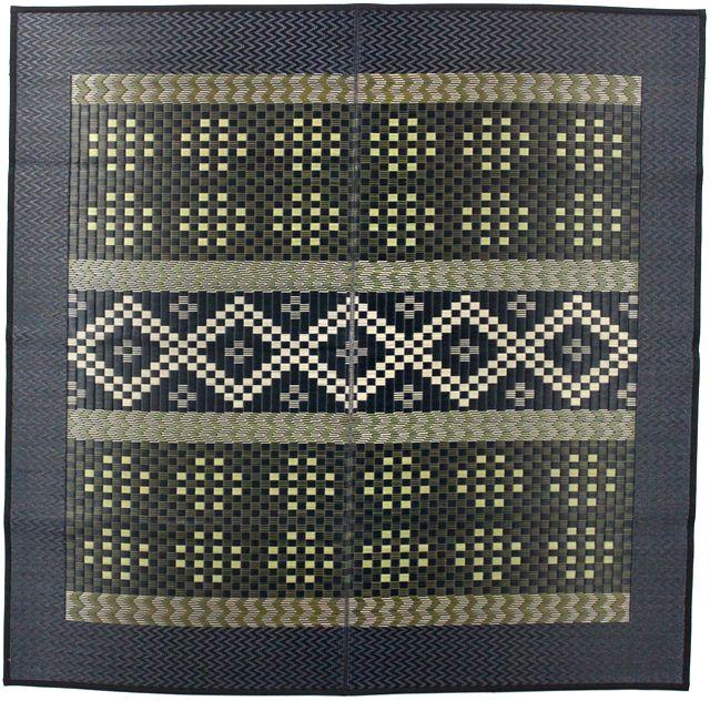 三重織り い草ラグ